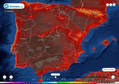 EL TIEMPO | España 'en rojo': llega una segunda ola de calor