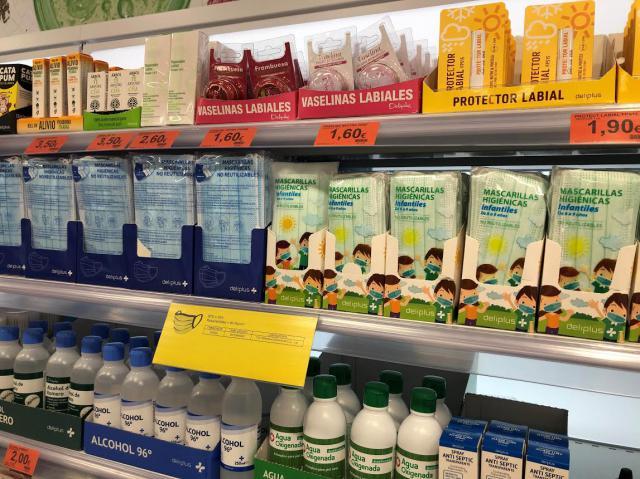 SALUD | Mercadona baja el precio de sus mascarillas higiénicas no reutilizables
