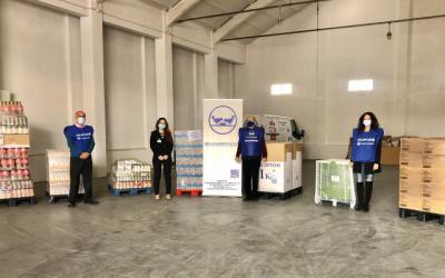 MERCADONA | Dona al Banco de Alimentos de Toledo 3.000 kilos de productos básicos