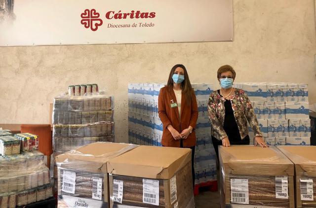 MERCADONA | 3.600 kilos de alimentos de primera necesidad para Cáritas