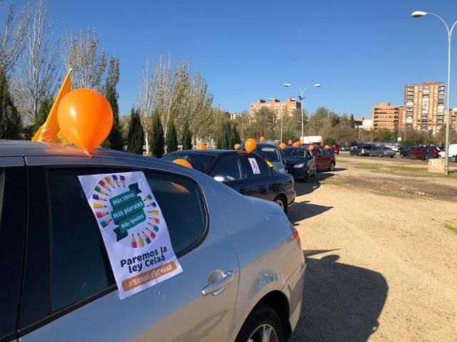 TALAVERA | 'Marea naranja' contra la Ley Celaá