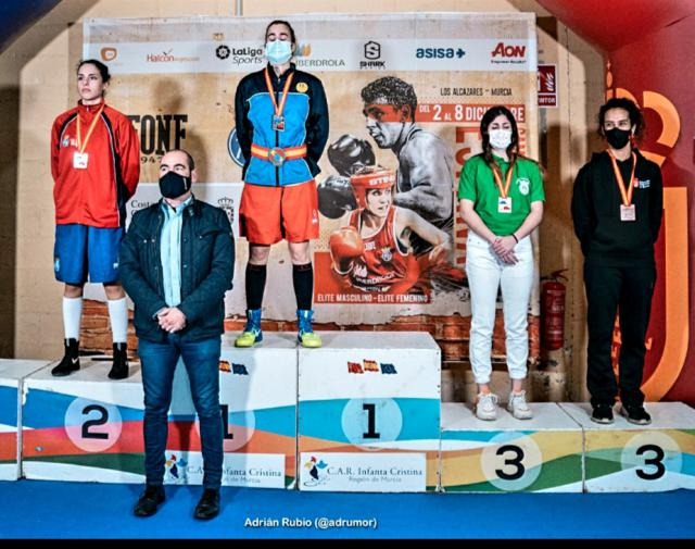 BOXEO | La boxeadora torrijeña Alejandra Nombela gana el bronce en el Campeonato de España