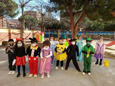 FOTOS | El Colegio Clemente Palencia celebra el Carnaval repleto de