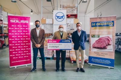 TOLEDO | Soliss y La Despensa donan 5 toneladas de productos de primera necesidad al Banco de Alimentos