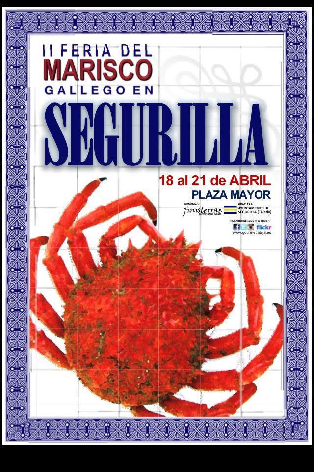 Vuelve el sabor de Galicia a Segurilla con la II Feria del Marisco