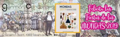 'Germán Cardona, Alta Costura' felicita a Talavera por la fiesta de Las Mondas