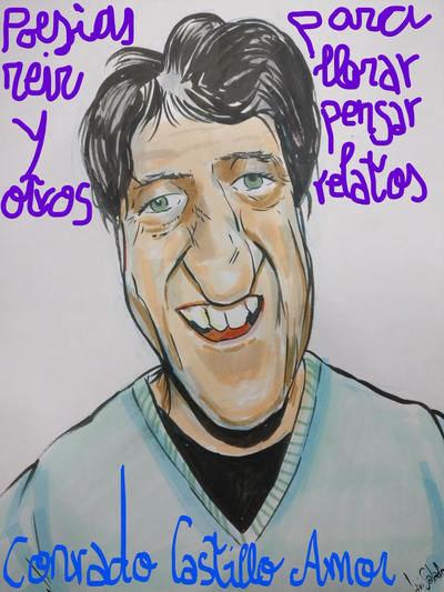 Conrado Castillo presenta 'Poesías para reír, para llorar y para pensar y otros relatos'