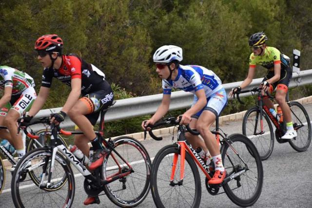 Jorge Gutiérrez, del OID Cycling Team Ciclos Ebora, entre los mejores de la clásica de Gipuzkoa