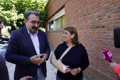 Jesús Fernández Sanz y Tita García Élez