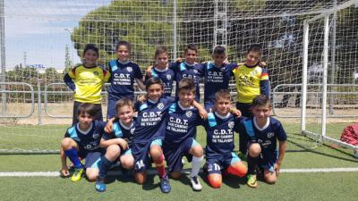 La Unión Deportiva Velada, subcampeona provincial de fútbol 8