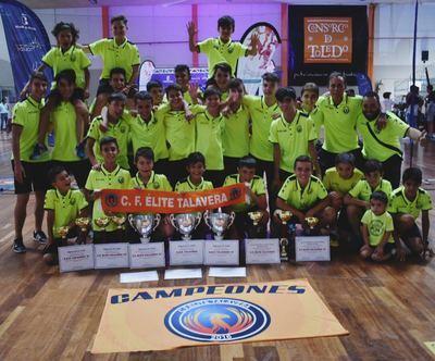 El CF Élite Talavera triunfa en la gala 'Somos Deporte' (fotos)