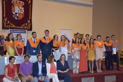 Graduación de los estudiantes de los Ciclos Formativos del IES Puerta de Cuartos (fotos)