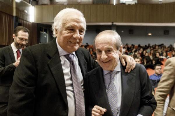 Los periodistas Raúl del Pozo y José María García.ALBERTO DI LOLLI