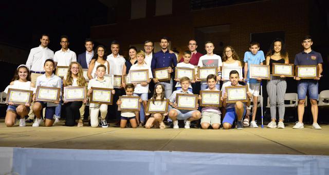 Así fue la gala de los 'Reconocimientos artísticos y deportivos' de Velada