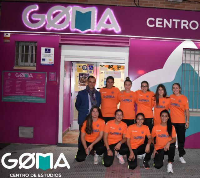 Goma Centro de Estudios, patrocinador del equipo femenino del CF Élite Talavera