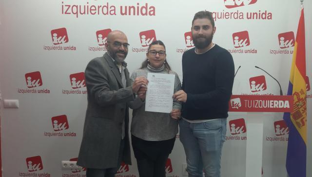 Apoyo de IU a los conductores de la línea Talavera-Toledo