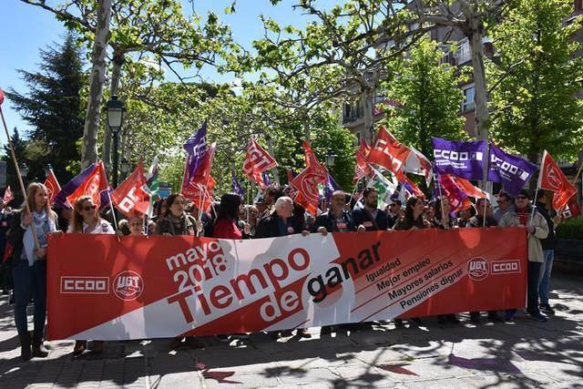 Mejores empleos, mayores salarios, igualdad y pensiones dignas, marcan el 1 de Mayo en Talavera