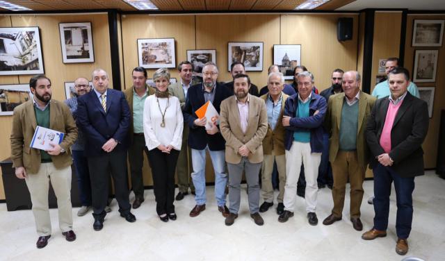 Cs se reúne en Talavera con diferentes colectivos de la caza