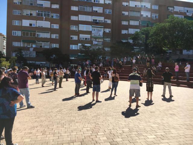 ACTUALIDAD | Importante concentración #VamosASalir