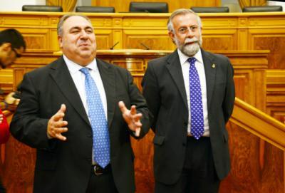 Vicente Tirado y Jaime Ramos en una imagen de archivo