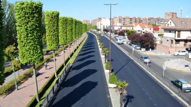 Cortes de tráfico en la talaverana Avenida de Madrid