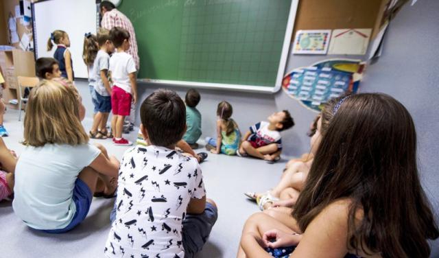 Las aulas de 2º de Primaria tendrán un máximo 25 alumnos y las de 4º de Primaria de 28
