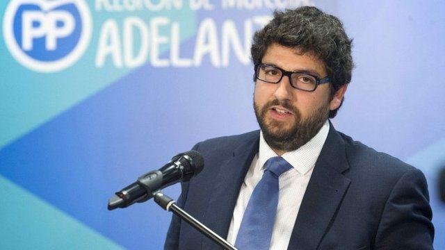 El presidente del PP de Murcia tacha de