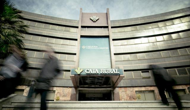 Sede central Caja Rural Castilla-La Mancha en Toledo