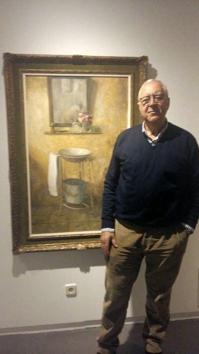 El artista talaverano Juan Carlos Jiménez expone su obra en Madrid