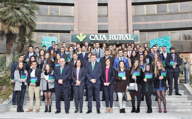 El 65% de contrataciones de Caja Rural CLM en 2017 correspondieron a alumnos que realizaron prácticas en la Entidad