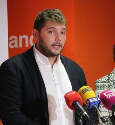 Carlos Alberto Martín, portavoz de Cs Talavera