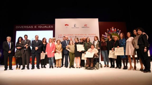 Castilla-La Mancha celebra el acto institucional del Día Internacional de las Mujeres