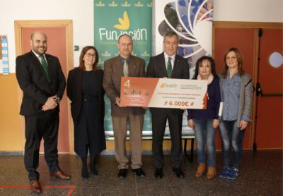 La Fundación Caja Rural CLM entrega una ayuda 'Workin' de 6.000 euros a la Asociación Desarrollo Autismo Albacete