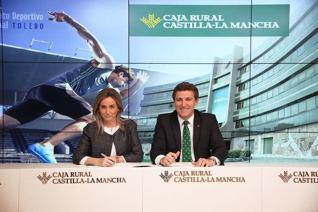 Caja Rural CLM renueva su colaboración con el Patronato Deportivo Municipal de Toledo