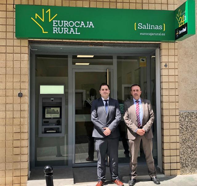Eurocaja Rural abre nueva oficina en Salinas (Alicante)