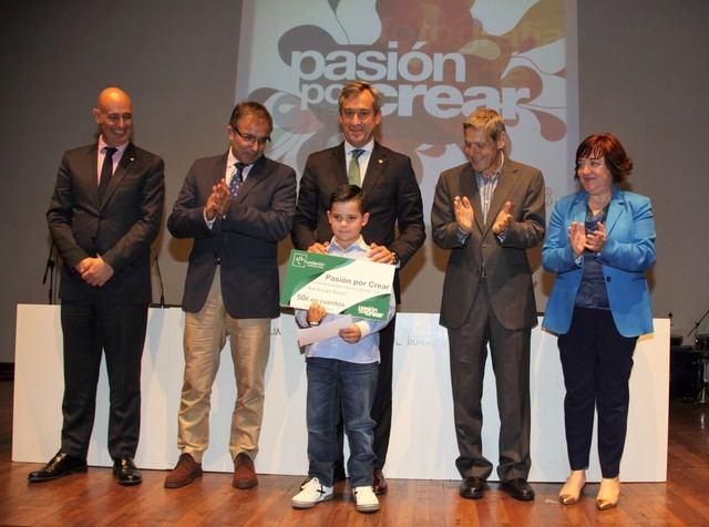 """Fundación Eurocaja Rural y Biblioteca regional entregan los premios de la 5ª edición de """"Pasión por crear"""""""