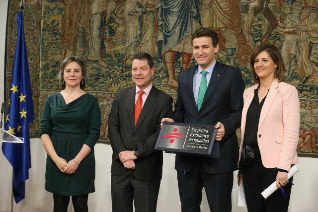 La Junta prorroga el 'Distintivo de Excelencia' en igualdad a Eurocaja Rural
