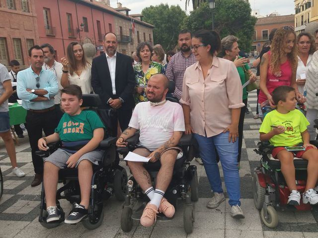 Talavera celebra el Día Mundial de la Distrofia Muscular