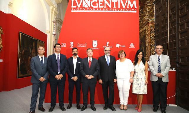 Inauguración de la exposición 'Lux Gentium', organizada con motivo del IV Centenario de la beatificación de santo Tomás de Villanueva
