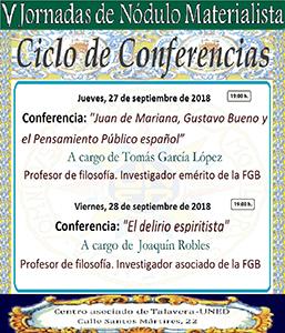 El pensamiento público de Juan de Mariana en las V Jornadas del Nódulo Materialista