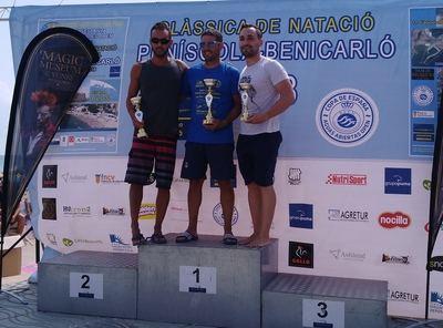 """Álvaro Arroyo, del CN Talavera, sube al podio en la II """"Volta al Castell'"""