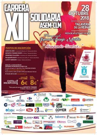 La XII carrera solidaria ASEM CLM 'Avanzando juntos' se celebrará el 28 de octubre