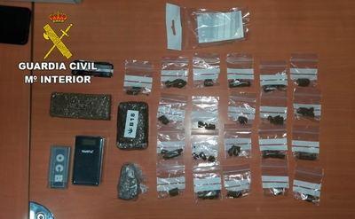 Detenido por vender drogas a jóvenes cerca de centros educativos en El Casar
