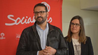 Sergio Gutiérrez y Esther Padilla, PSOE