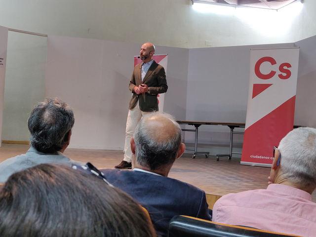 """David Muñoz: """"Los candidatos de Cs a las alcaldías de Talavera y su Comarca quieren ser equipo de Gobierno"""""""