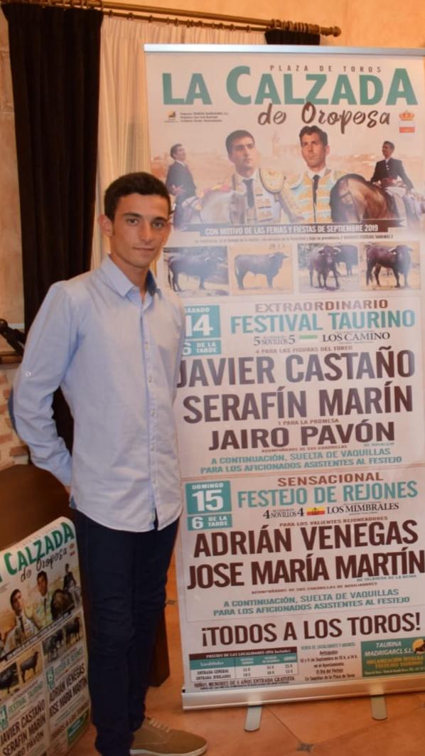 José María Martín repite en Calzada de Oropesa
