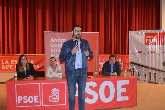 El candidato socialista por Toledo.