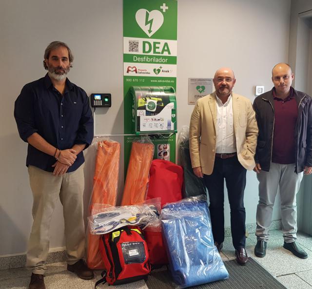 25 agrupaciones de Protección Civil reciben el material de emergencias