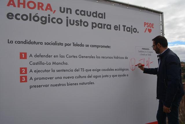 El PSOE se compromete a hacer cumplir la sentencia del TS y hacer inviable el trasvase