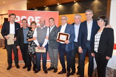 """Garcia-Page: """"el éxito del PSOE está unido a mucha gente que ha trabajado sin buscar nunca ni premio ni homenaje"""""""